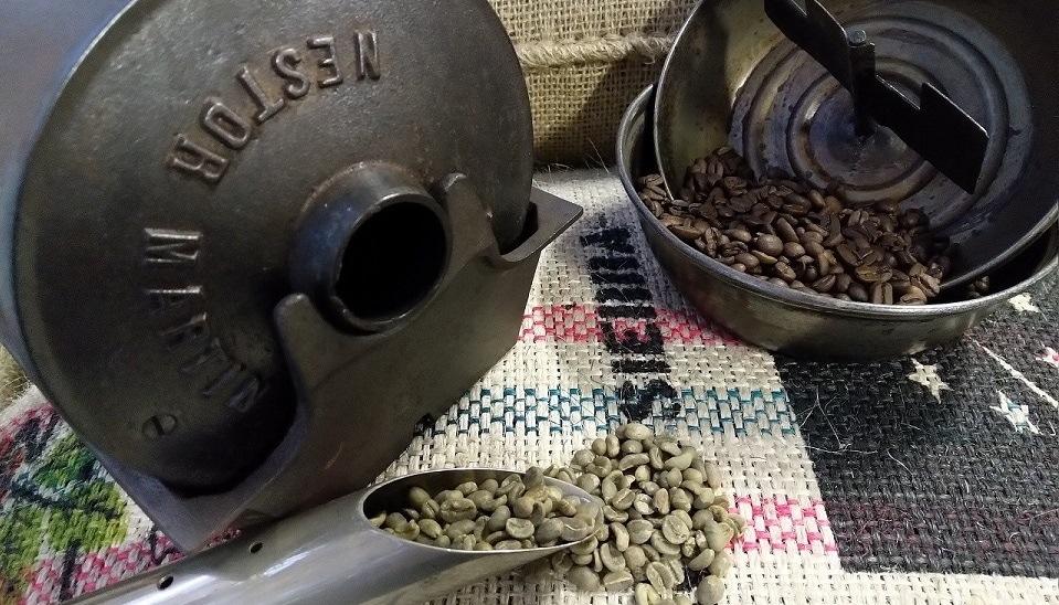 Wonderbaar Ongebrande bonen - Hoofdkwartier Koffiebranderij SL-93
